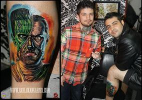 My new tattoo.. by eddy-avila-r