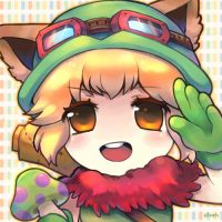 Teemo girl by silveheu