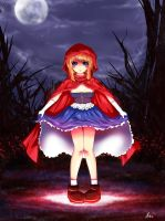 Little red riding hood by Hirodemon