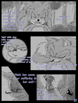 Meeting the Werehog pg. 21 by Blue-Chica