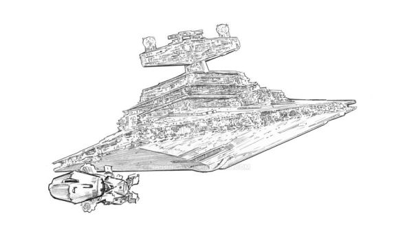 Blockade Runner by jasonpal