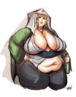 Hefty Hokage Tsunade by TheAmericanDream