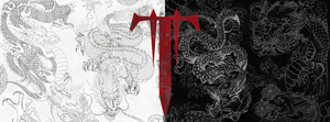 Trivium - Dragon Ying and Yang - Banner by Sebhole