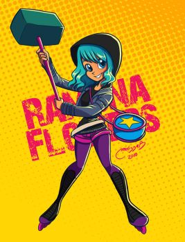 ramona flowers by melivillosa