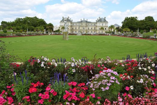 Luxembourg's garden by C-Justinator