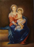 Madonna of the Rosary by Wojciech-Wierzynski