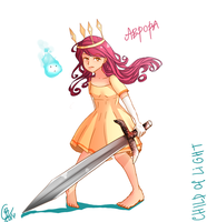 Child of light: Aurora by kirakirai