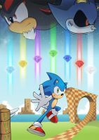 Summer of Sonic 2012 by AlkalineAzel