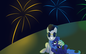 Commission - Night Sparks by Doovid97
