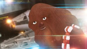 Episode Seven Chewbacca by jackcrowder