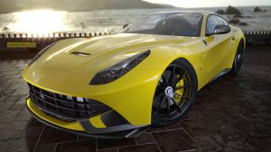 F12 Yellow shiny by jackdarton