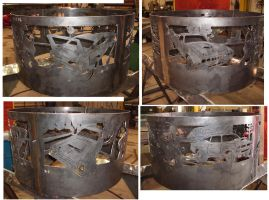 Mopar   Steel Fire Ring by BROKENHILL