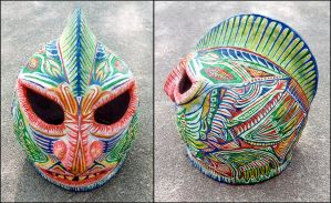 Monster mask by Astalo