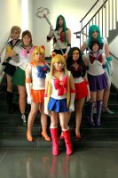 Sailor Scouts 2 by TheyCallMeCait