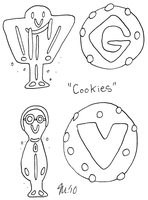 30 Day Challenge - Cookies by melissaduck