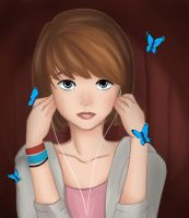 Max Caulfield life is strange by Peebles15