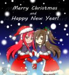 -MerryChristmas and HappyNewYear!- Zen and Daria by Lady2011