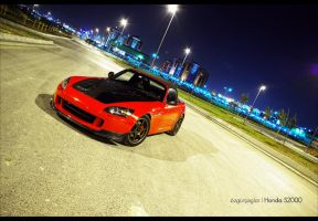 Honda S2000 Red - 2 by rugzoo