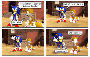 Silly Sonic  - GMOD Comic by TheGreatGBA