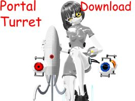 Portal Turret Download by RiSama