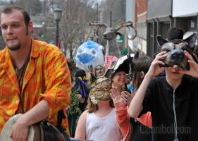 earth day parade by cannibol