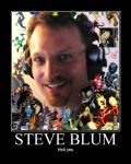 10,000 Pageviews Thank You:  Steve Blum by Onikage108