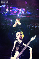 Matt Bellamy Muse Poster by samsaga1307
