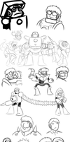 MORE GENERAL DUMPING OF DOODLES by Chloemew4ever