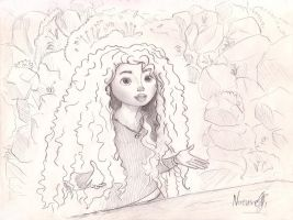 Merida Brave by TenggerCavalry