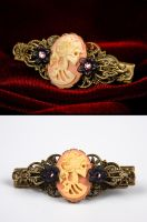 Baroque Ornament Hairclip by Francesca Dani by francescadani