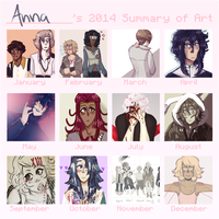 2014 Summary Of Art by square-root