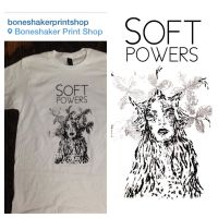 Soft Powers tee by ManyMoonCaves