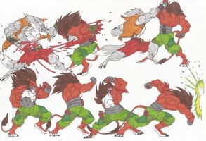 Bloody Roar_Doodles14_oct2012 by AlexBaxtheDarkSide