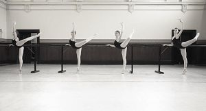 Ballet Class by lawrencew