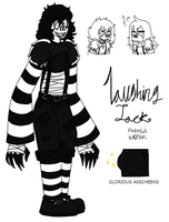 Laughing Jack's New Design (Laughing Jack Fanart) by gamzeebat1234