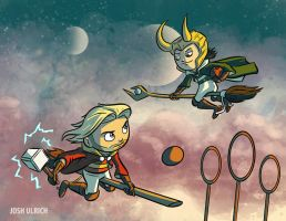 Quidditch of the Gods by Josh-Ulrich