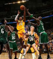 Celtics VS. Lakers by chaskillz