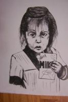 Orphan with milk by Bigterri