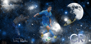 Cristiano Ronaldo - Galaxy by IndividualDesign