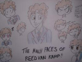 The Many Face Of Reed Van Kamp by Edwards-daughterxoxo