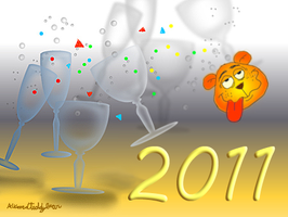 New Year's ID by alteredteddybear