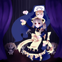 The puppet master(with bg) by Aoi-chan01