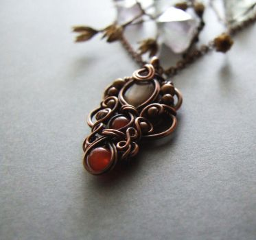 Autumn Necklace Tutorial by Lethe007