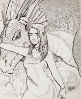Kharo and the Dragon by Shabazik