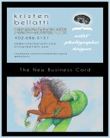 New Business Card by AnneRiceBowl