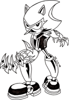 Metal Scourge Lineart by Vega-Three