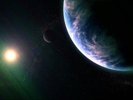 my fist 3dsmax space scene by pillipinoguy