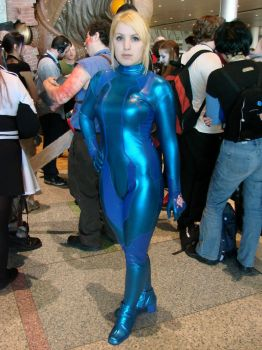 Other M Samus cosplay5 by BleachcakeCosplay