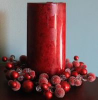 Christmas Candle 02 - Stock by Thy-Darkest-Hour