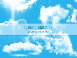 Clouds Brushes by xara24